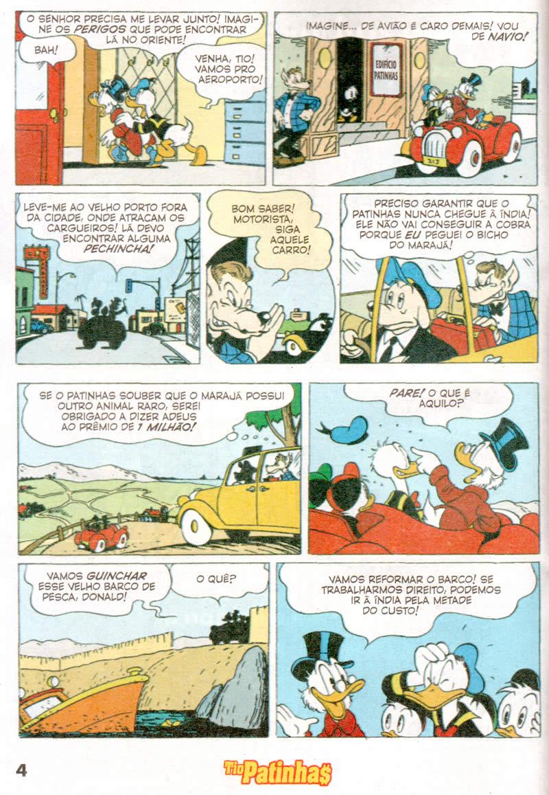 Tio Patinhas n°552 [Julho/2011] - Prévia em scans na pág. 01! TP55202