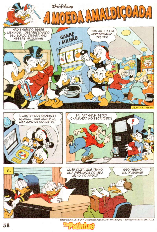 Tio Patinhas n°552 [Julho/2011] - Prévia em scans na pág. 01! TP55207