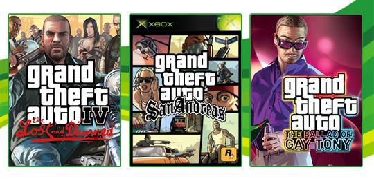 Deal of the Week: Grand Theft Auto é o tema dos descontos desta semana na Live! [X360]