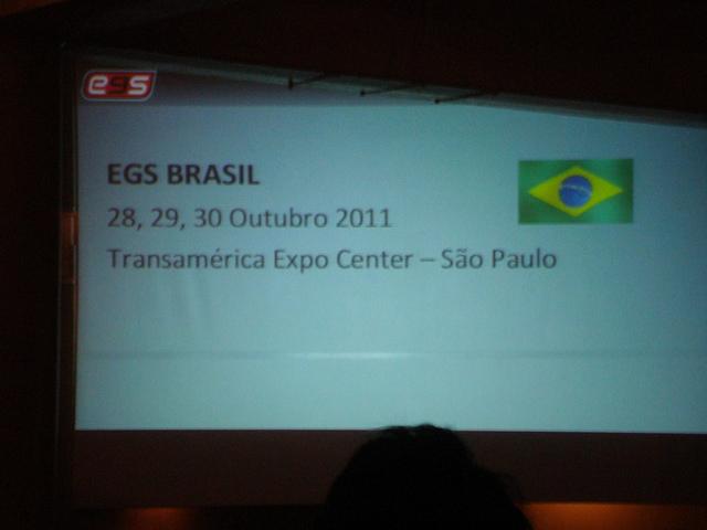 Electronic Game Show retorna ao Brasil!
