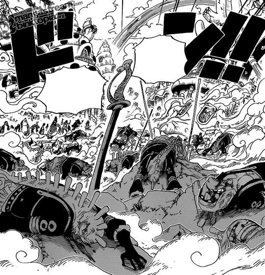 Photo of Conversa de Mangá: One Piece 631 – Gyoncorde Plaza