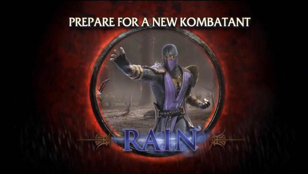 Prepare for a new Kombatant! Primeiro trailer com o gameplay do Rain liberado! [PS3/X360]