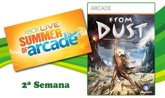 Live Arcade: From Dust chega e lhe dá o poder de manipular territórios! [Summer of Arcade] [X360]