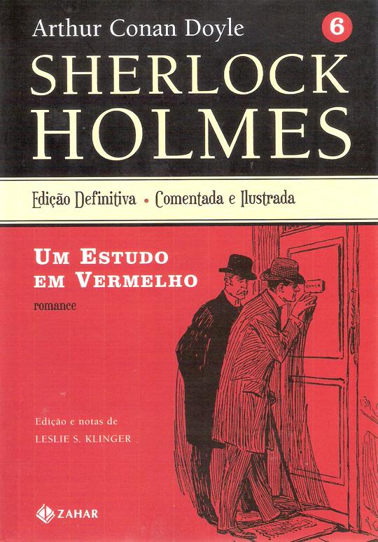 Photo of Sherlock Holmes: Um Estudo em Vermelho! Clássico e leitura obrigatória desde 1887! (Impressões)