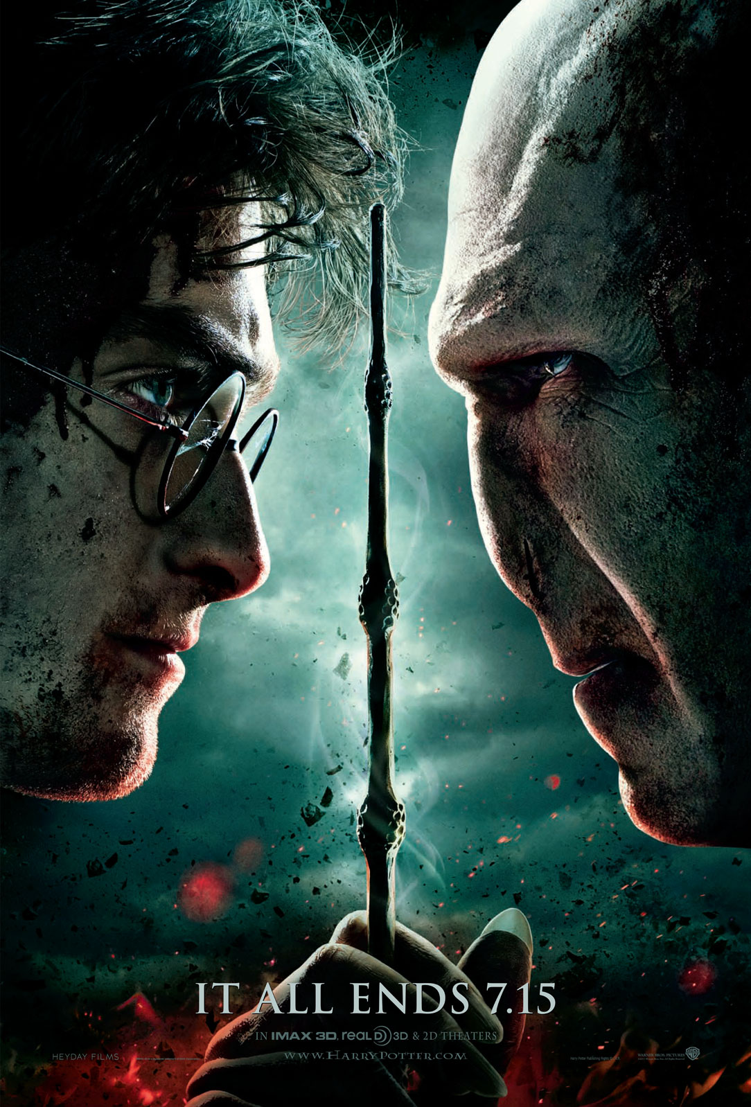 Cinema: Harry Potter e as Relíquias da Morte Parte 2 – Eu Fui! [Avada Kedavra, Comentário, Opinião]