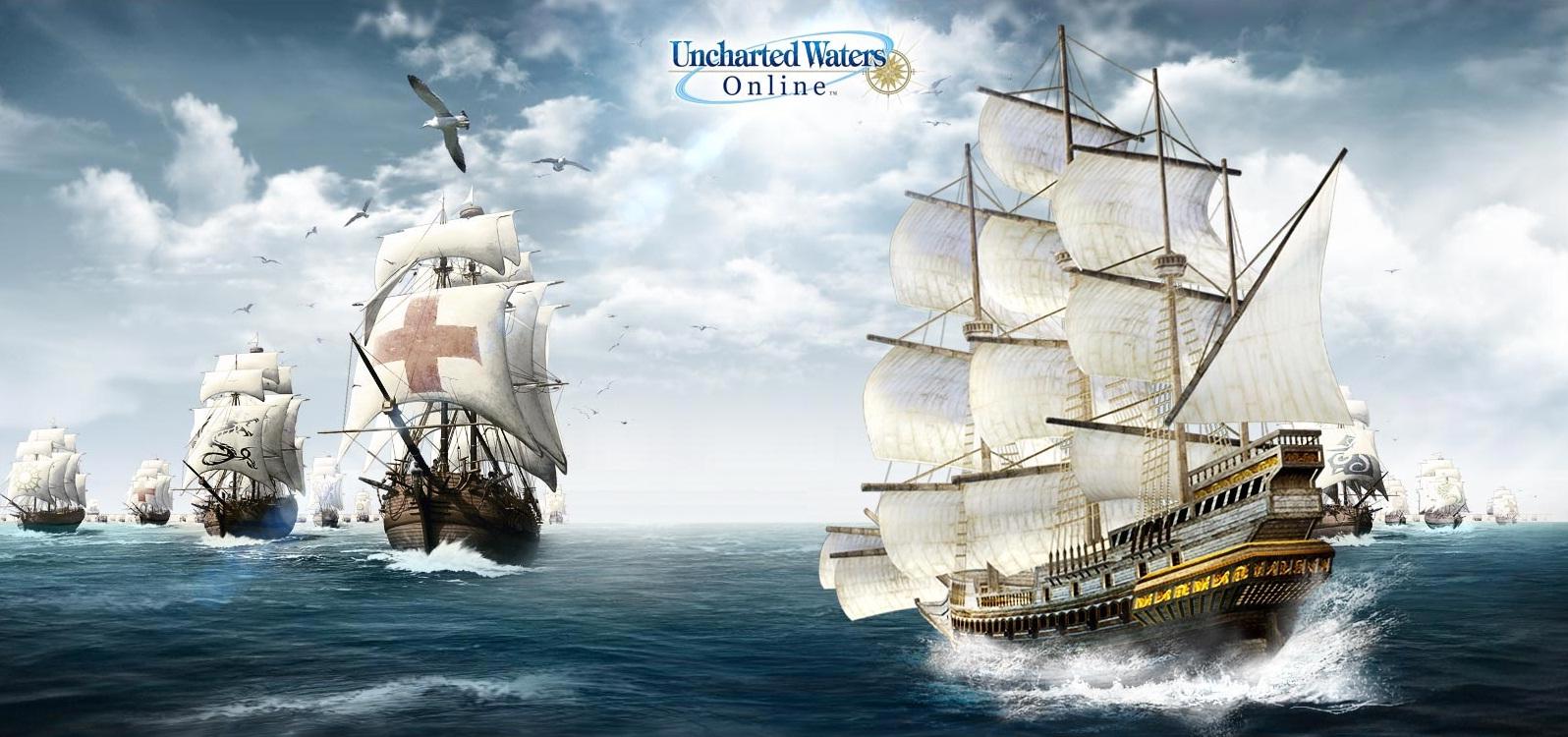 A calmaria dos mares numa única música! Uncharted Waters: New Horizons! [PTunes] [Games OST]