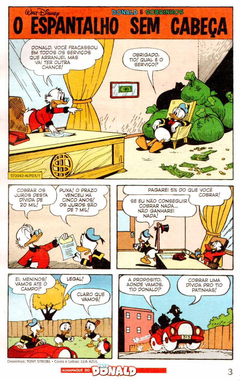 Almanaque do Pato Donald #03 [Agosto/2011] - Prévia em scans na Pág. 02! - Página 2 ALPD01