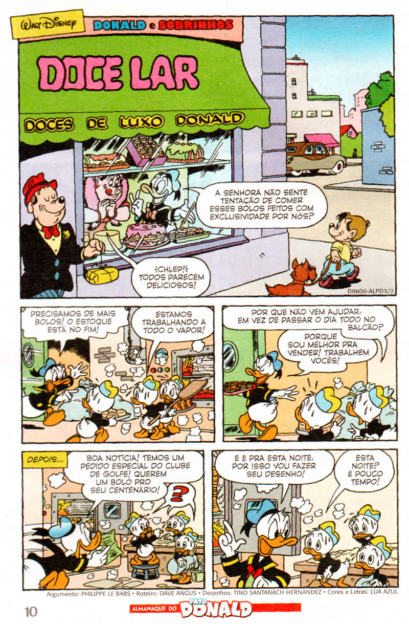 Almanaque do Pato Donald #03 [Agosto/2011] - Prévia em scans na Pág. 02! - Página 2 ALPD02
