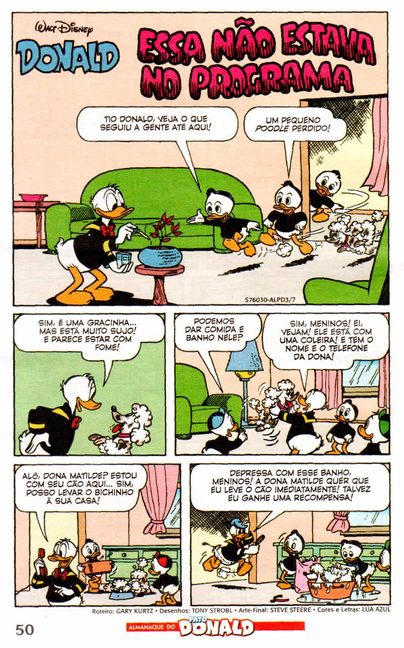Almanaque do Pato Donald #03 [Agosto/2011] - Prévia em scans na Pág. 02! - Página 2 ALPD07