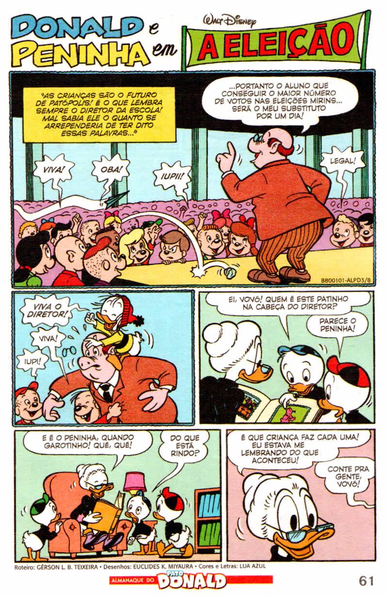 Almanaque do Pato Donald #03 [Agosto/2011] - Prévia em scans na Pág. 02! - Página 2 ALPD08