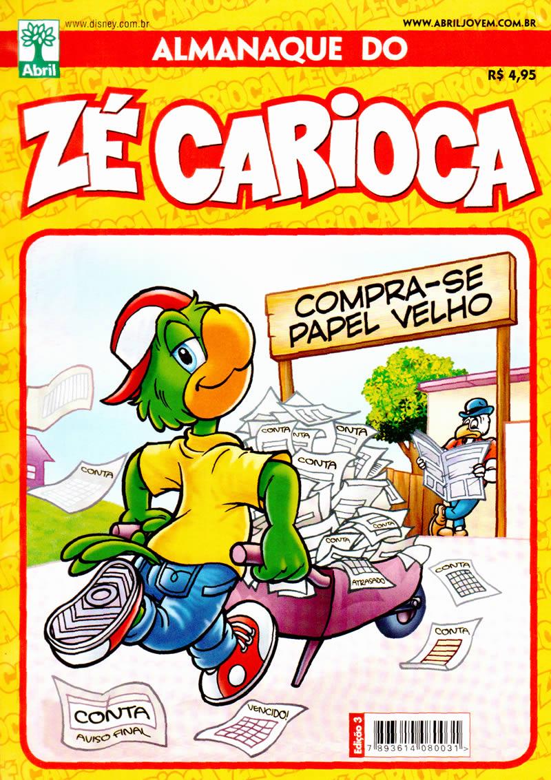 Almanaque do Zé Carioca #03 [Agosto/2011] - Prévia em scans na Pág. 02! - Página 2 ALZC00