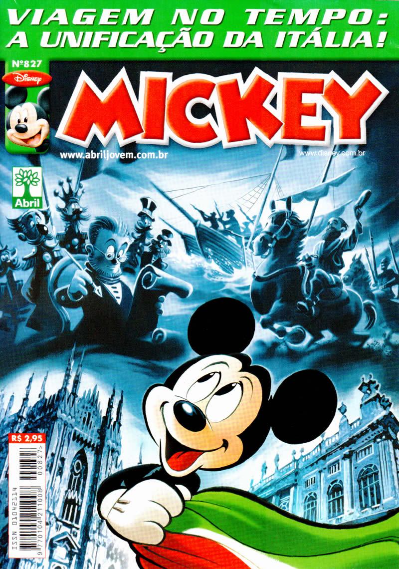 Mickey n°827 [Agosto/2011]  - Prévia em Scans na pág 01! Mk82700