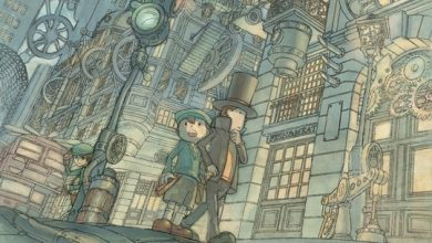 Photo of Wallpaper de ontem: Professor Layton 3!