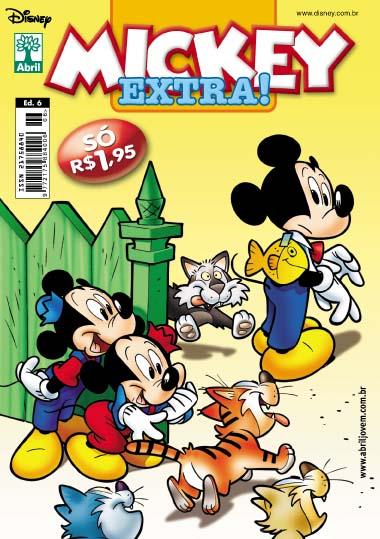 Mickey Extra nº 6 [Outubro/2011] - Prévia em scans na pág. 01! MKE06c01