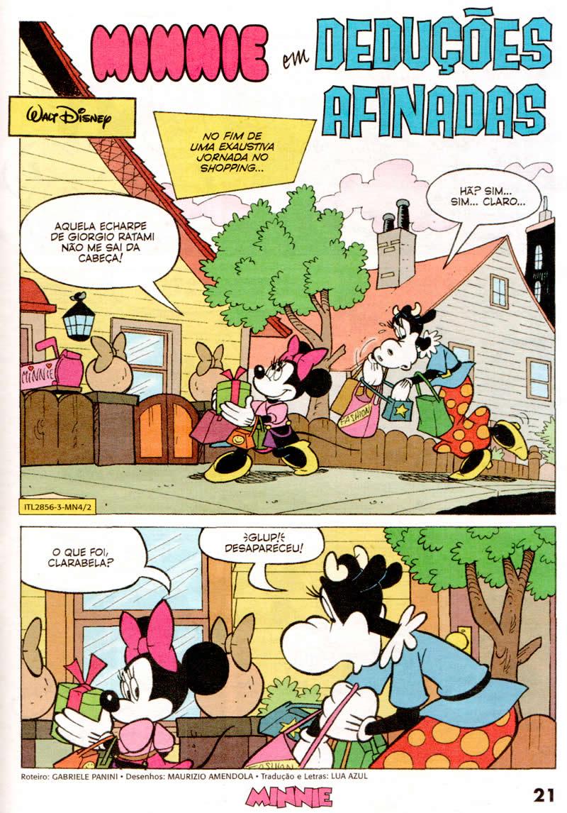 Minnie n° 04 [Setembro/2011] - Prévia em scans na pág. 01! Mn0404