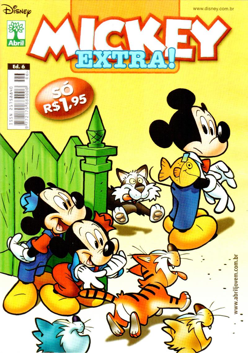 Mickey Extra nº 6 [Outubro/2011] - Prévia em scans na pág. 01! MKEX0600