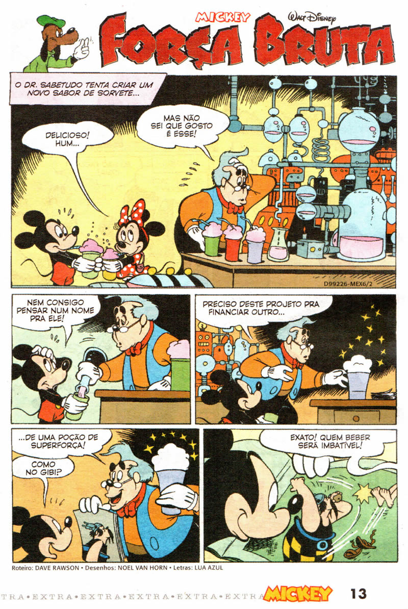 Mickey Extra nº 6 [Outubro/2011] - Prévia em scans na pág. 01! MKEX0603