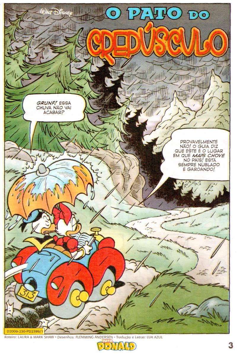 Pato Donald n°2399 [Outubro/2011]- Prévia em scans na pág 02! - Página 2 PD239901