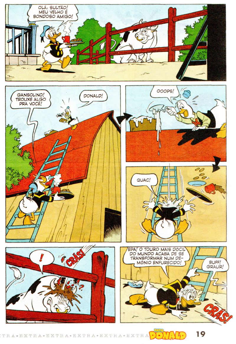Pato Donald Extra nº 6 [Outubro/2011] - Prévia em scans na pág. 01! PDEX0606