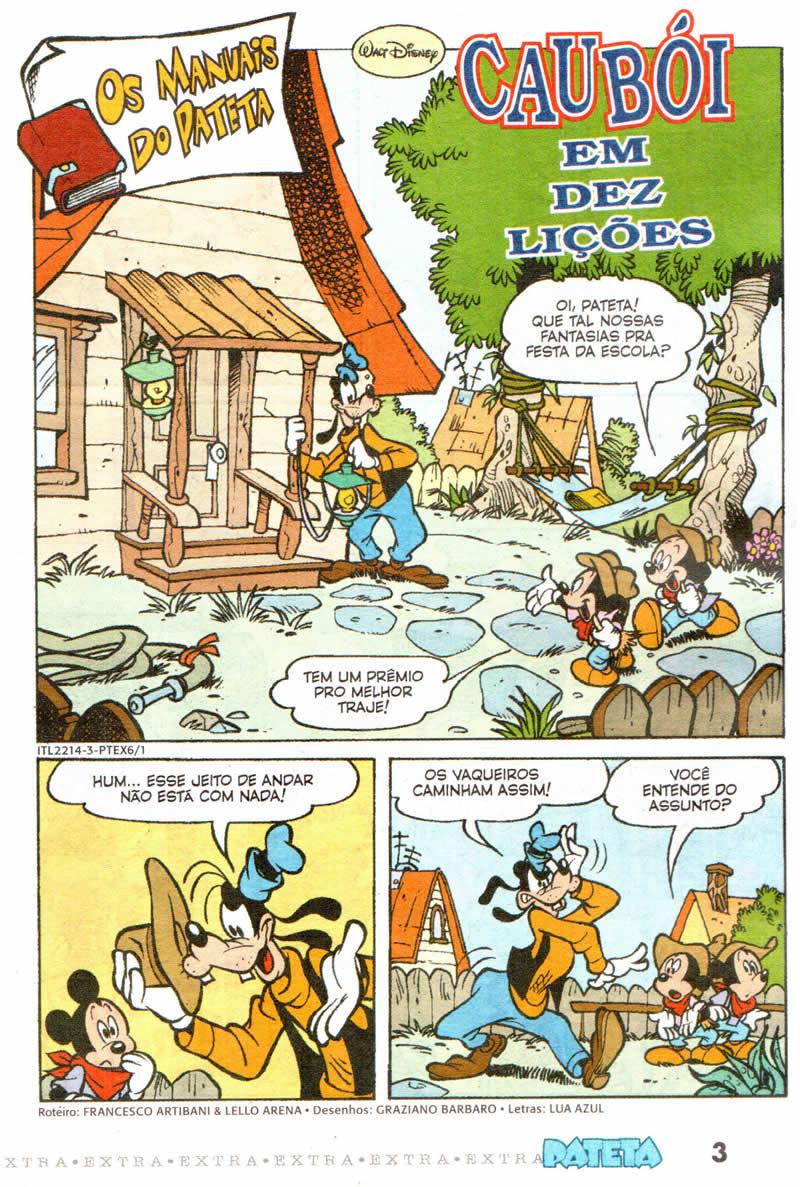 Pateta Extra nº 6 [Outubro/2011]  - Prévia em scans na pág. 01! PTEX0601