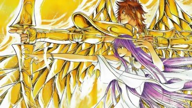 Photo of Wallpaper de ontem: Saint Seiya: The Lost Canvas!