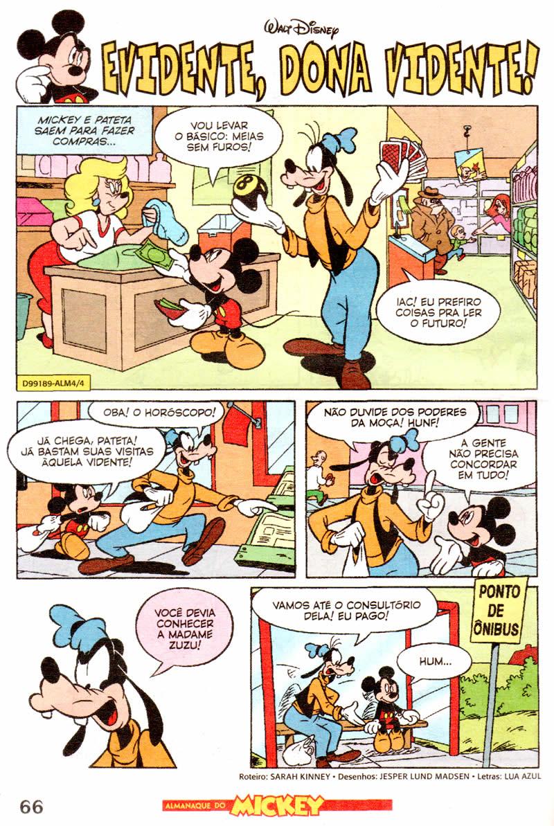 Almanaque do Mickey #04 [Outubro/2011] - Prévia em scans na pág. 02! ALMK0407