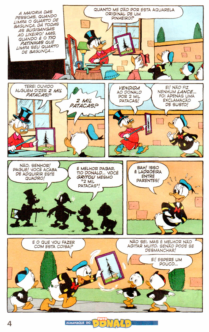 Almanaque do Pato Donald #04 [Outubro/2011]  - Prévia em scans na pág. 02! - Página 2 ALPD0402