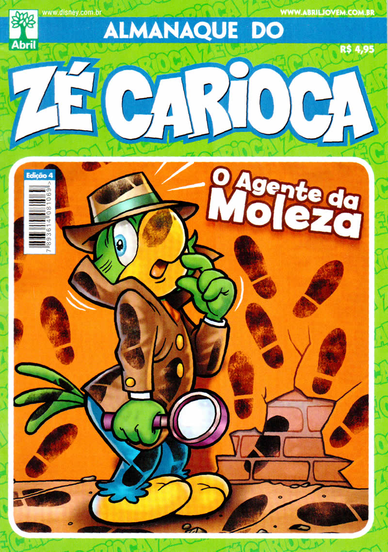 Almanaque do Zé Carioca #04 [Outubro/2011]  - Prévia em scans na pág. 01! ALZC0400