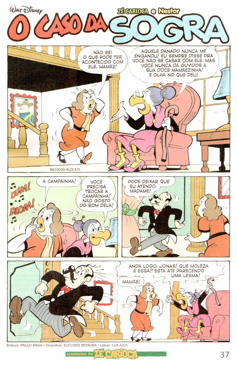 Almanaque do Zé Carioca #04 [Outubro/2011]  - Prévia em scans na pág. 01! ALZC0409