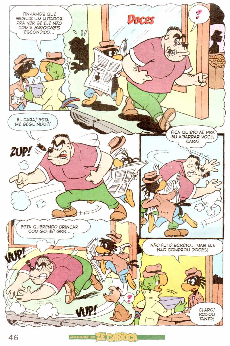Almanaque do Zé Carioca #04 [Outubro/2011]  - Prévia em scans na pág. 01! ALZC0412