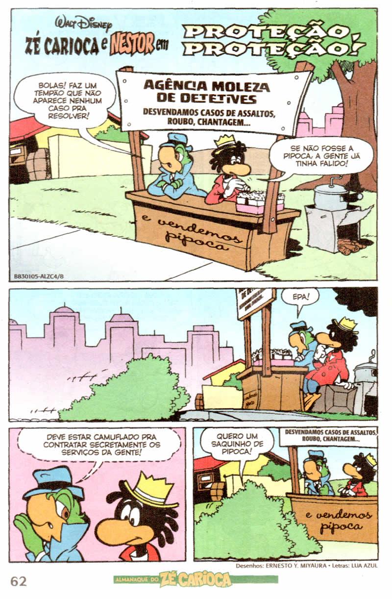Almanaque do Zé Carioca #04 [Outubro/2011]  - Prévia em scans na pág. 01! ALZC0415
