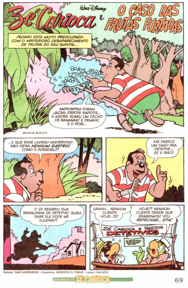 Almanaque do Zé Carioca #04 [Outubro/2011]  - Prévia em scans na pág. 01! ALZC0417