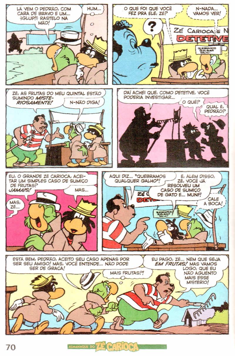 Almanaque do Zé Carioca #04 [Outubro/2011]  - Prévia em scans na pág. 01! ALZC0418