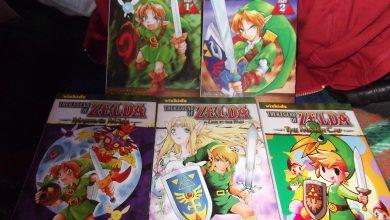 Photo of Dia de correio! Mangás americanos: Zelda OoT, MM, ALttP e Minish Cap! [+ Asch the Bloody Vol. 1] [Fotos]