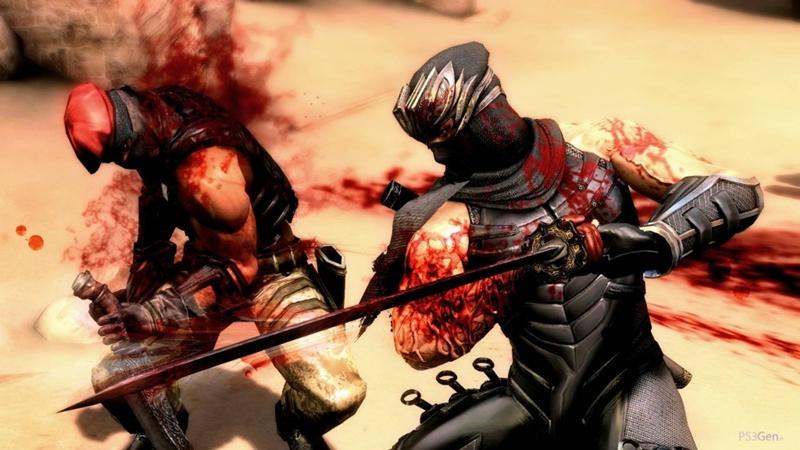 Cortando carne para dar e vender nas novas imagens de Ninja Gaiden III! [PS3/X360/Wii-U]