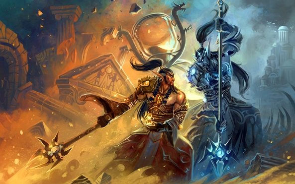 Photo of Wallpaper do dia: World of Warcraft!