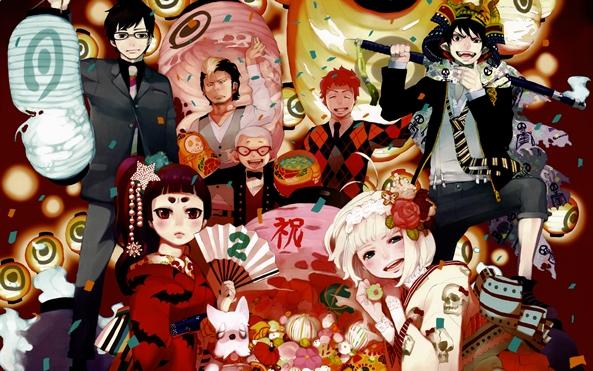 Photo of Wallpaper do dia: Ao no Exorcist! (Ano Novo)
