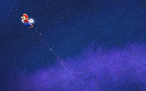 Photo of Wallpaper do dia: Super Mario Galaxy!