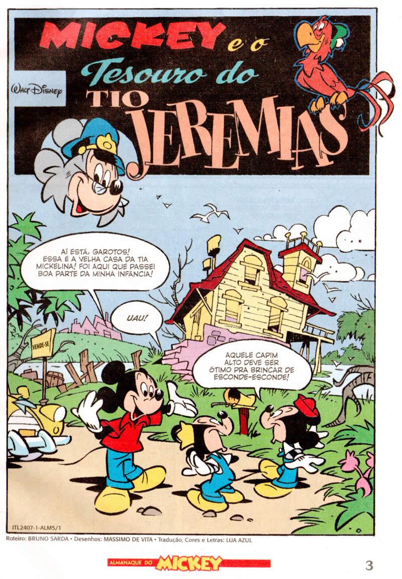 Photo of Prévia: Almanaque do Mickey nº 5 – Dez/2011