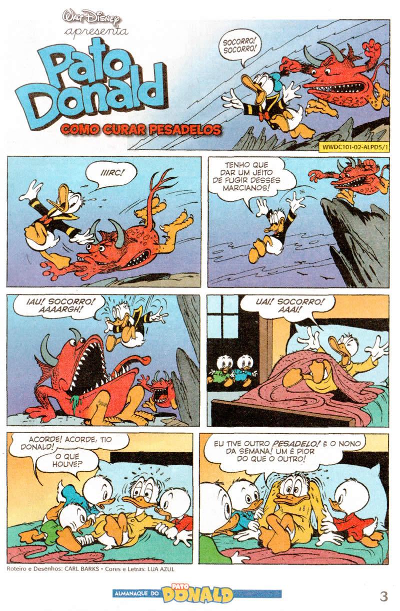 Photo of Prévia: Almanaque do Pato Donald nº 5 – Dez/11