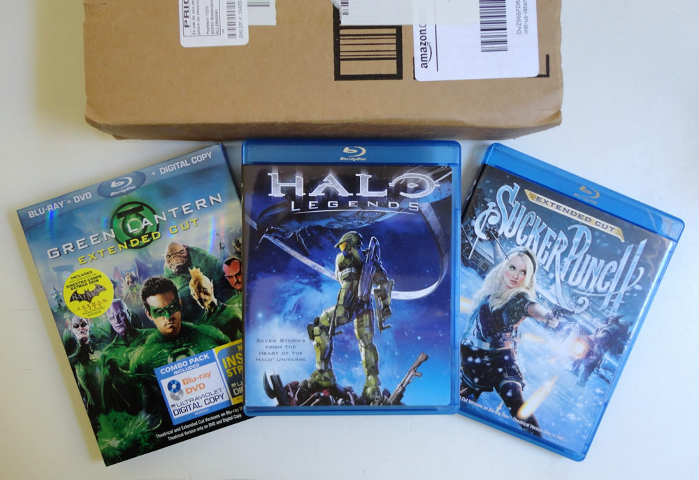 Photo of Dia de correio: Blu-ray Halo, Sucker e Lanterna