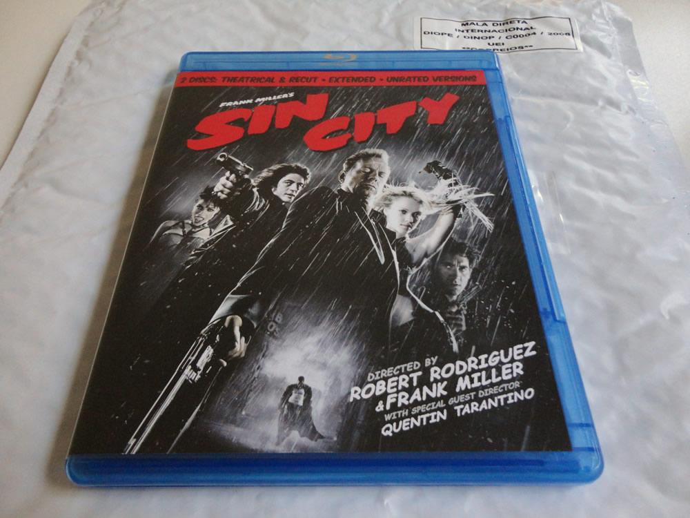 Photo of Dia de correio: Blu-ray de Sin City!