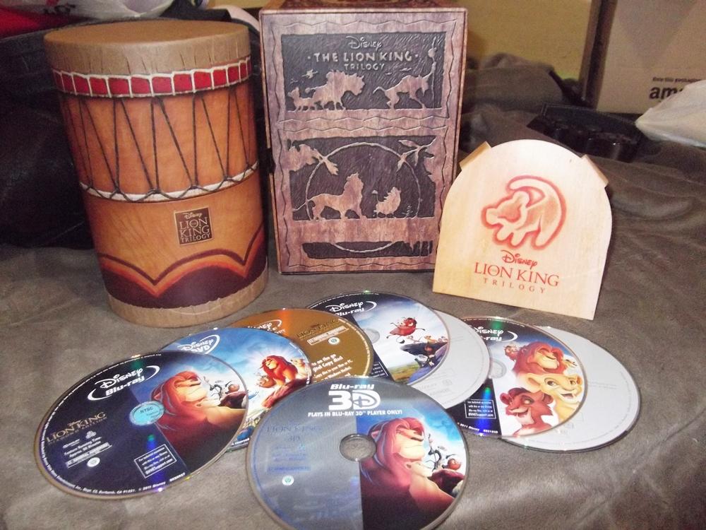 Photo of Dia de correio: Blu-ray The Lion King Trilogy!