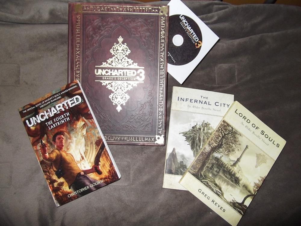 Photo of Dia de correio: TES e U3 novels e guide CE!