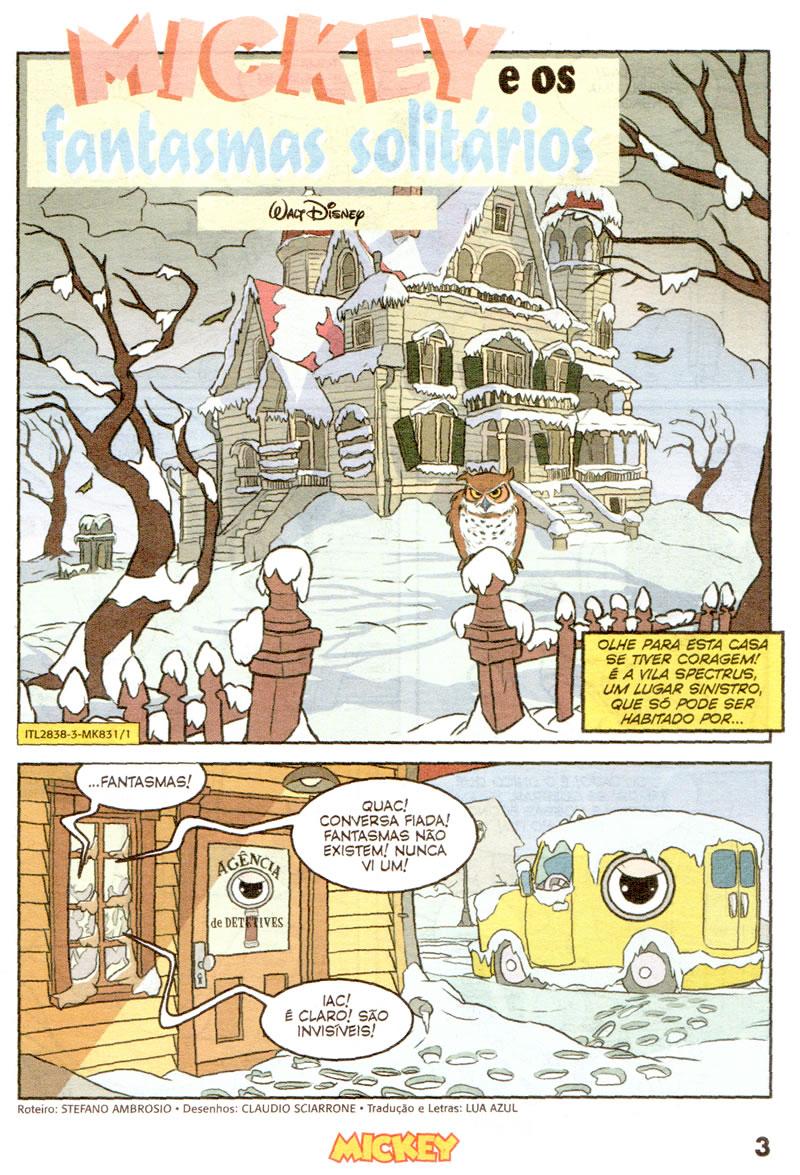 Mickey nº831 [Dezembro/2011] - Prévia em scans na pág 01 MK83101
