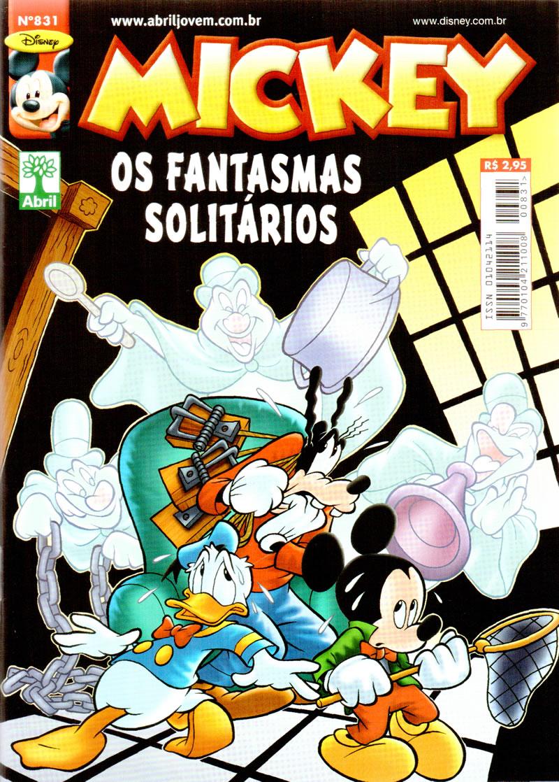Mickey nº831 [Dezembro/2011] - Prévia em scans na pág 01 MK83110