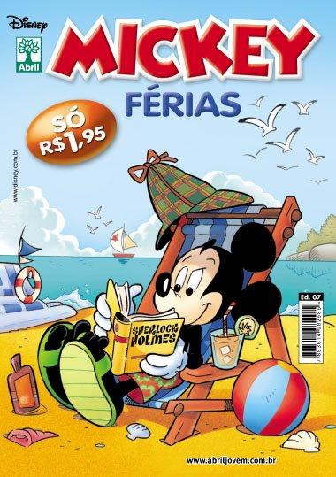 Mickey Férias #7 [Dezembro/2011] - Prévia em scans na pág 02 MKF07