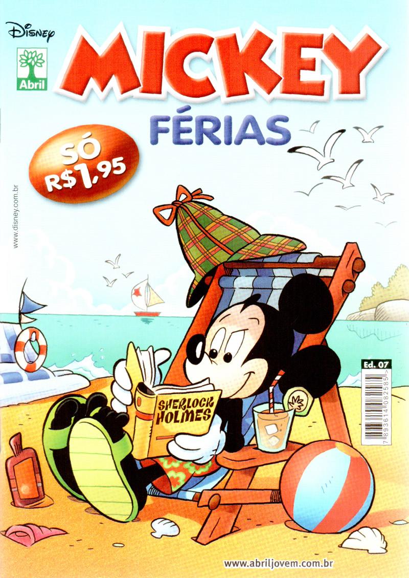 Mickey Férias #7 [Dezembro/2011] - Prévia em scans na pág 02 MKF0709