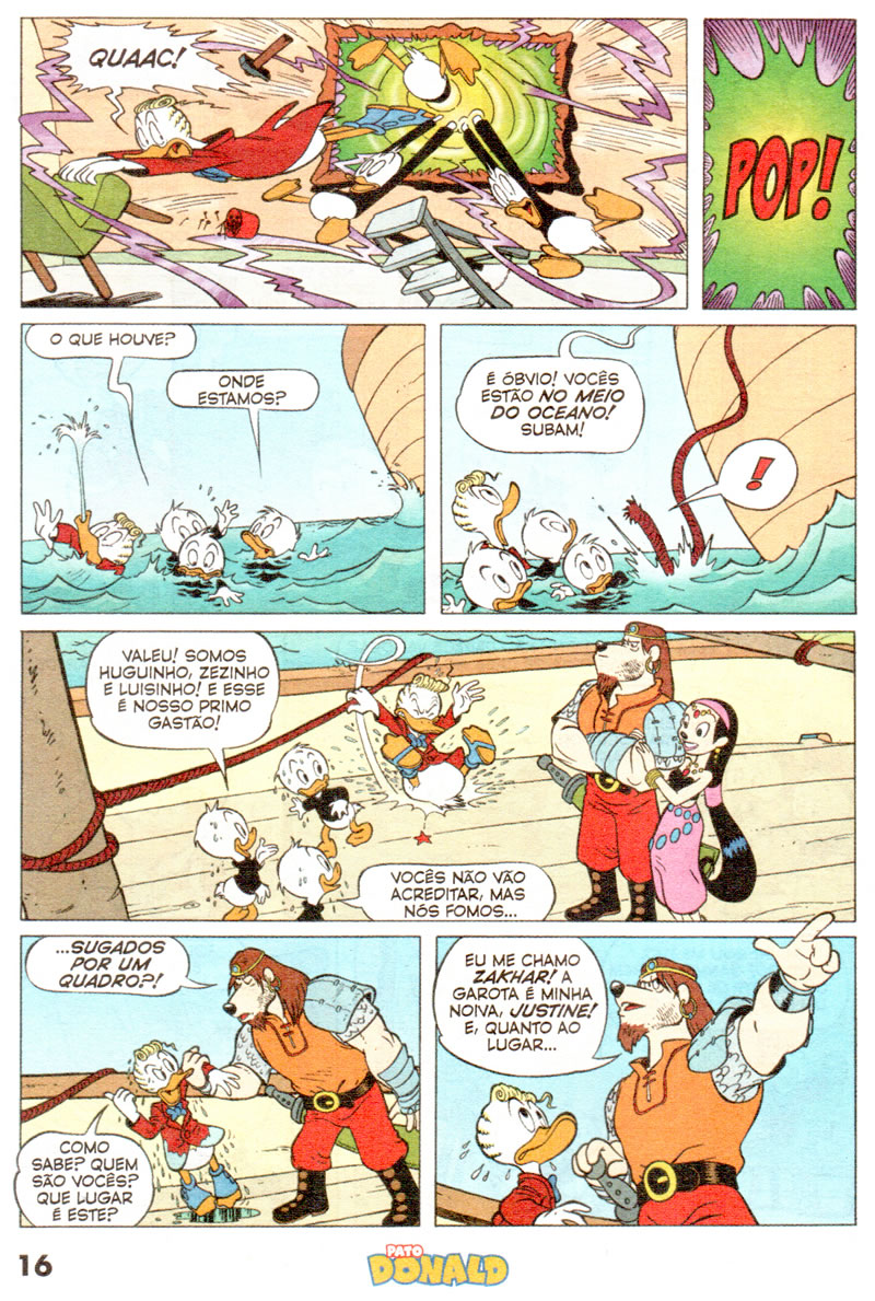 Pato Donald n°2401 [Dezembro/2011] - Prévia em scans na pág. 01 PD240104