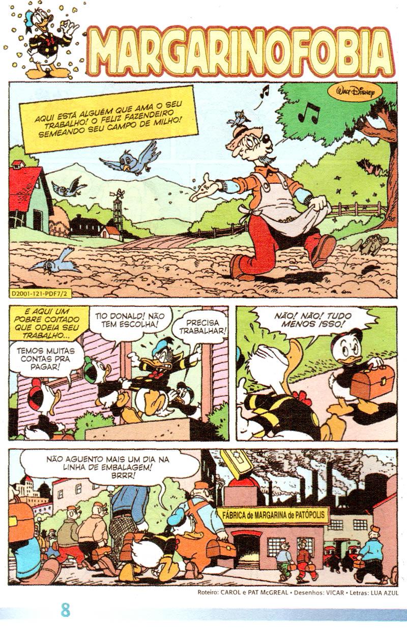 Pato Donald Férias #7 [Dezembro/2011] - Prévia em scans na pág 01 PDF0703